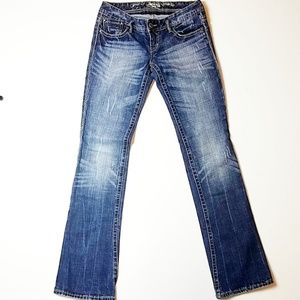 Express Jeans - Express - Ultra Low Rise Barely Boot Cut Jeans